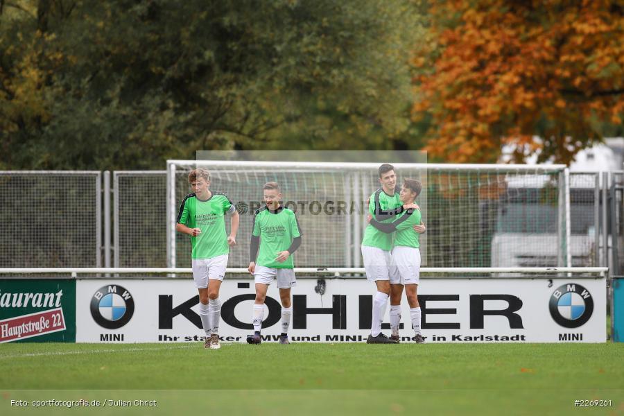 Max Lambrecht, Jakob Fischer, Noah Edelhäuser, 19.10.2019, U19 Bezirksoberliga Unterfranken, (SG) TSV/DJK Wiesentheid, (SG) FV Karlstadt - Bild-ID: 2269261