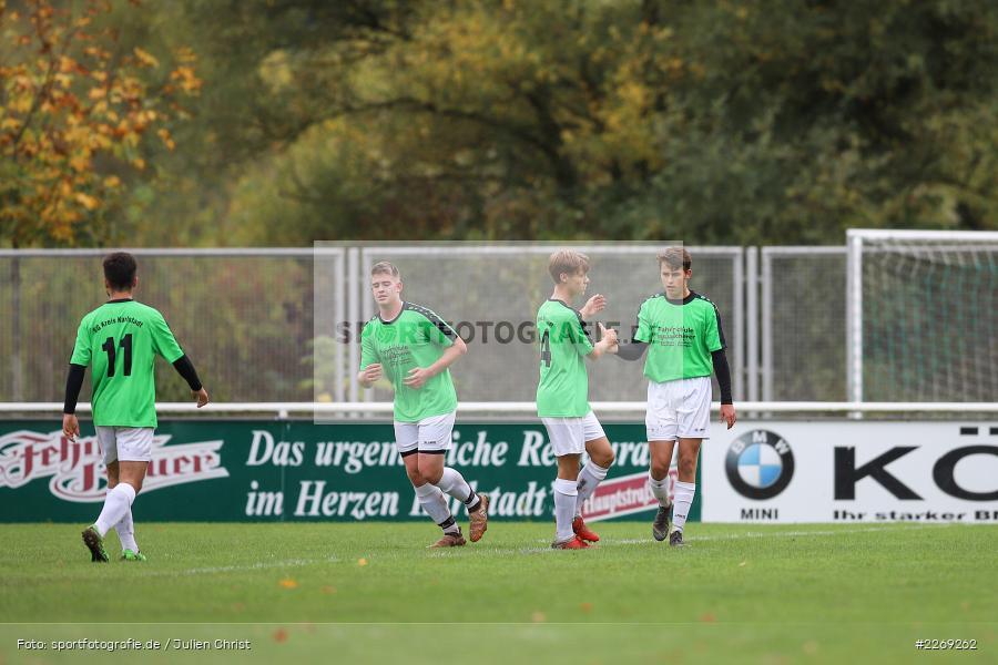 Noah Edelhäuser, 19.10.2019, U19 Bezirksoberliga Unterfranken, (SG) TSV/DJK Wiesentheid, (SG) FV Karlstadt - Bild-ID: 2269262