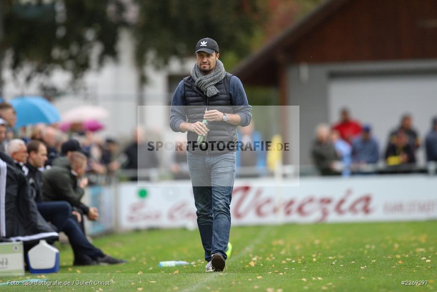 Dominik Haußner, 19.10.2019, Bayernliga Nord, DJK Ammerthal, TSV Karlburg - Bild-ID: 2269297