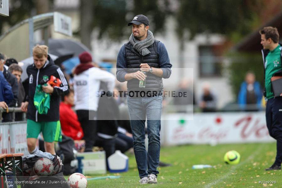 Dominik Haußner, 19.10.2019, Bayernliga Nord, DJK Ammerthal, TSV Karlburg - Bild-ID: 2269298