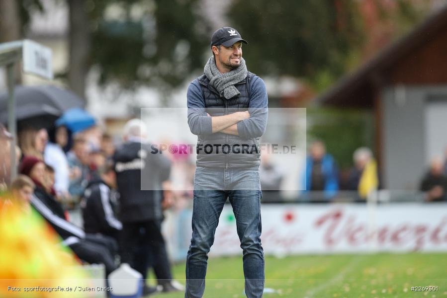 Dominik Haußner, 19.10.2019, Bayernliga Nord, DJK Ammerthal, TSV Karlburg - Bild-ID: 2269301