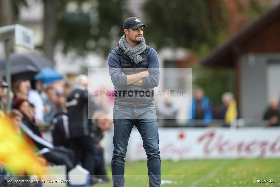 Dominik Haußner, 19.10.2019, Bayernliga Nord, DJK Ammerthal, TSV Karlburg - Bild-ID: 2269302