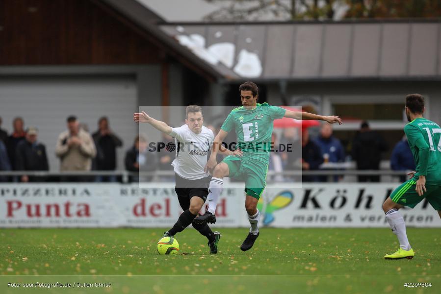 Christian Schrödl, Marcel Frank, 19.10.2019, Bayernliga Nord, DJK Ammerthal, TSV Karlburg - Bild-ID: 2269304