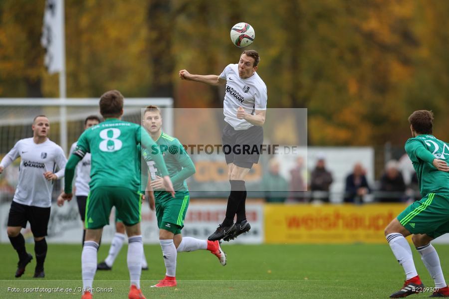 Sebastian Fries, 19.10.2019, Bayernliga Nord, DJK Ammerthal, TSV Karlburg - Bild-ID: 2269307