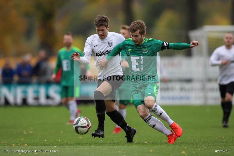 Bernhard Neumayer, David Machau, 19.10.2019, Bayernliga Nord, DJK Ammerthal, TSV Karlburg - Bild-ID: 2269312