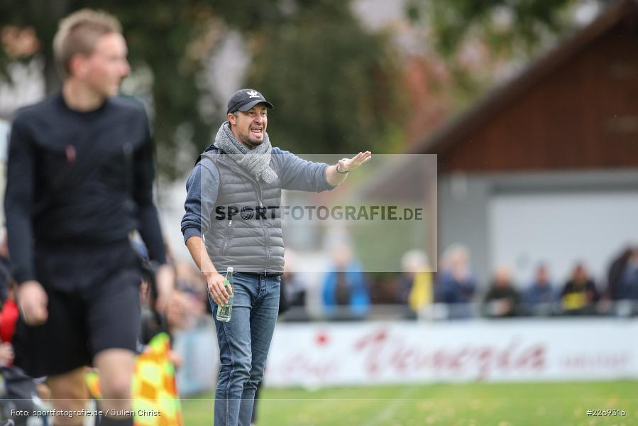 Dominik Haußner, 19.10.2019, Bayernliga Nord, DJK Ammerthal, TSV Karlburg - Bild-ID: 2269316