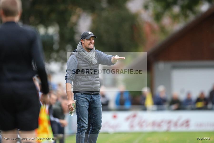 Dominik Haußner, 19.10.2019, Bayernliga Nord, DJK Ammerthal, TSV Karlburg - Bild-ID: 2269318