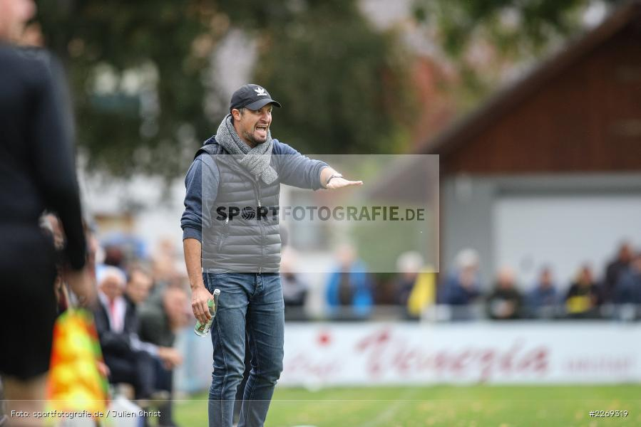 Dominik Haußner, 19.10.2019, Bayernliga Nord, DJK Ammerthal, TSV Karlburg - Bild-ID: 2269319