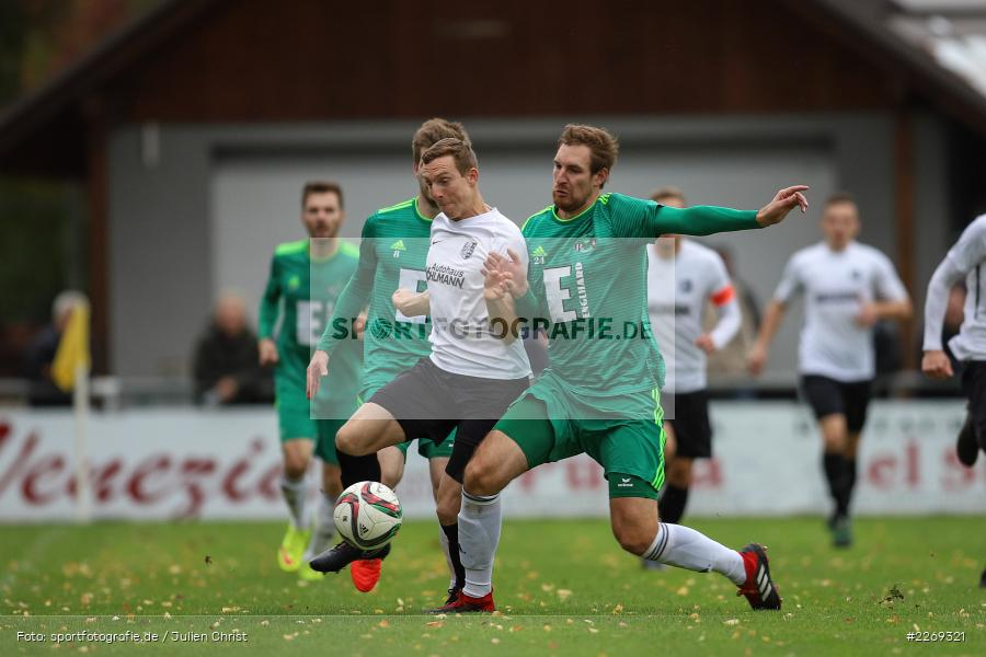 Mario Zitzmann, Sebastian Fries, 19.10.2019, Bayernliga Nord, DJK Ammerthal, TSV Karlburg - Bild-ID: 2269321
