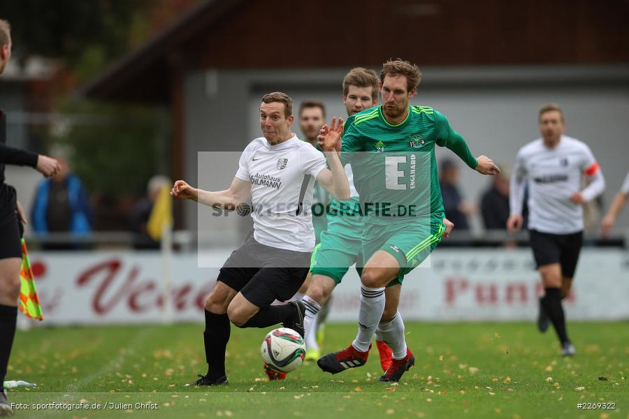 Mario Zitzmann, Sebastian Fries, 19.10.2019, Bayernliga Nord, DJK Ammerthal, TSV Karlburg - Bild-ID: 2269322