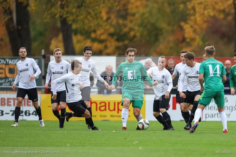 Josef Burghard, Mario Zitzmann, 19.10.2019, Bayernliga Nord, DJK Ammerthal, TSV Karlburg - Bild-ID: 2269324