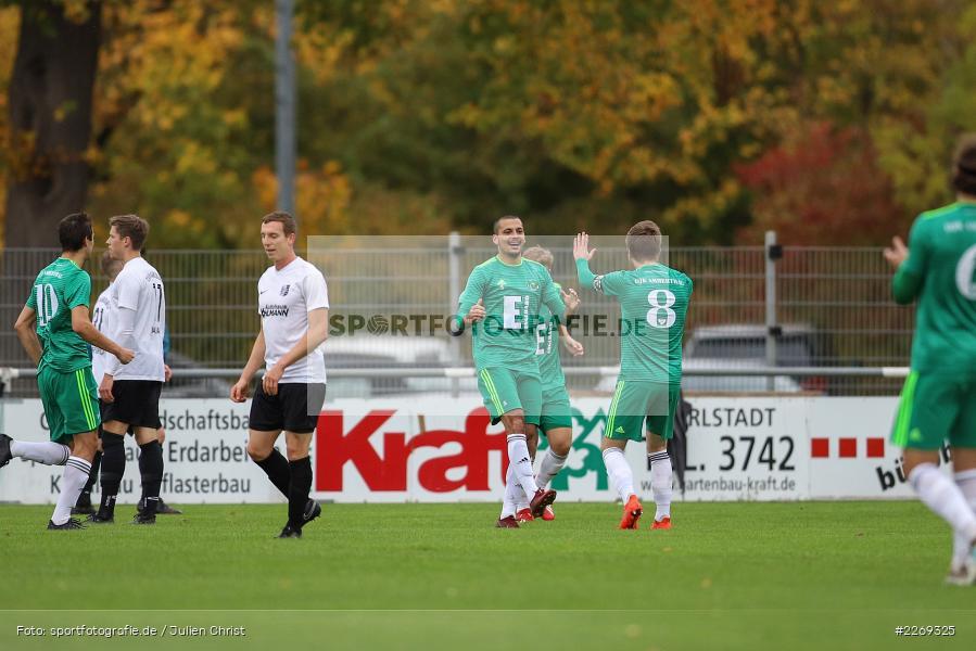 Bernhard Neumayer, Ferdinand Buchner, 19.10.2019, Bayernliga Nord, DJK Ammerthal, TSV Karlburg - Bild-ID: 2269325
