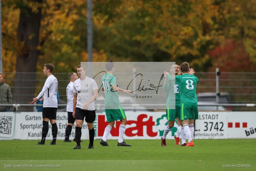 Bernhard Neumayer, Ferdinand Buchner, 19.10.2019, Bayernliga Nord, DJK Ammerthal, TSV Karlburg - Bild-ID: 2269326