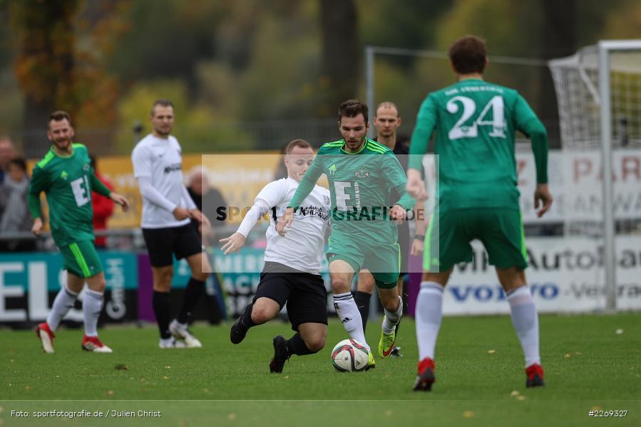 Josef Burghard, Daniel Gömmel, 19.10.2019, Bayernliga Nord, DJK Ammerthal, TSV Karlburg - Bild-ID: 2269327