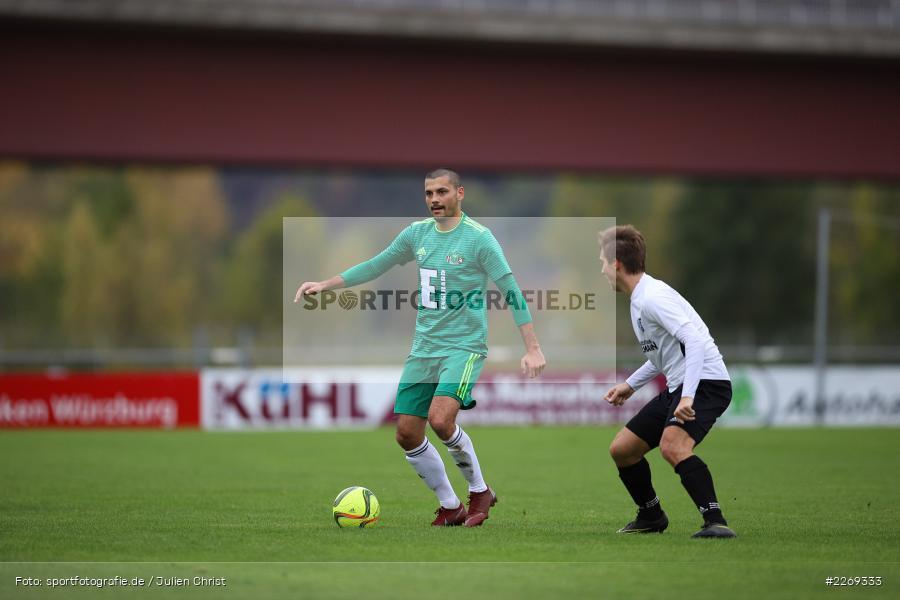 Ferdinand Buchner, 19.10.2019, Bayernliga Nord, DJK Ammerthal, TSV Karlburg - Bild-ID: 2269333