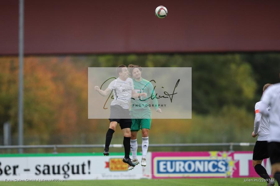 Sebastian Fries, Christian Kohl, 19.10.2019, Bayernliga Nord, DJK Ammerthal, TSV Karlburg - Bild-ID: 2269337