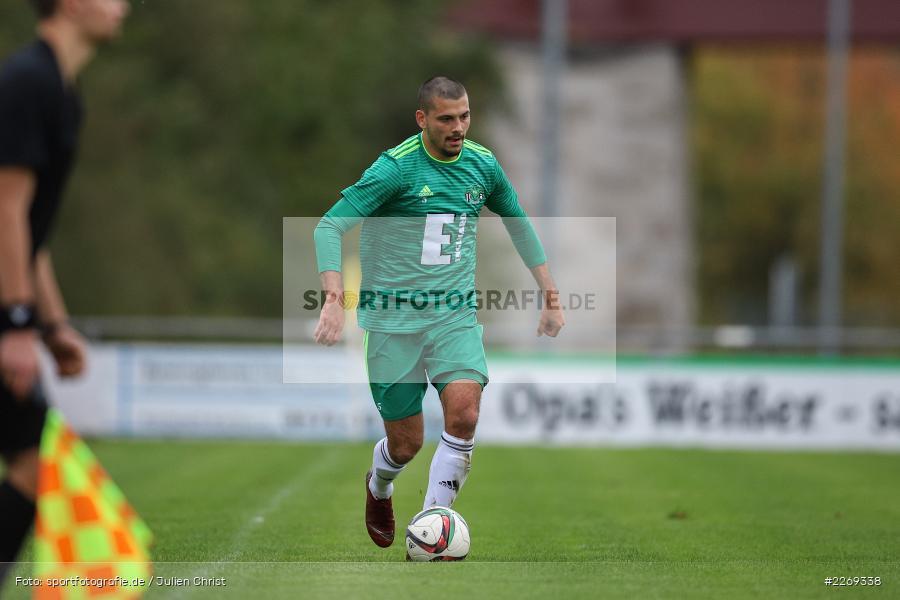 Ferdinand Buchner, 19.10.2019, Bayernliga Nord, DJK Ammerthal, TSV Karlburg - Bild-ID: 2269338