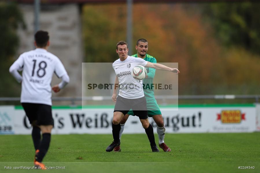 Ferdinand Buchner, Sebastian Fries, 19.10.2019, Bayernliga Nord, DJK Ammerthal, TSV Karlburg - Bild-ID: 2269340