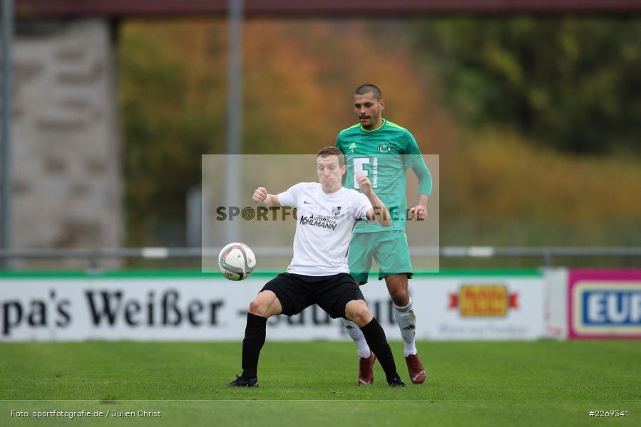 Sebastian Fries, Ferdinand Buchner, 19.10.2019, Bayernliga Nord, DJK Ammerthal, TSV Karlburg - Bild-ID: 2269341