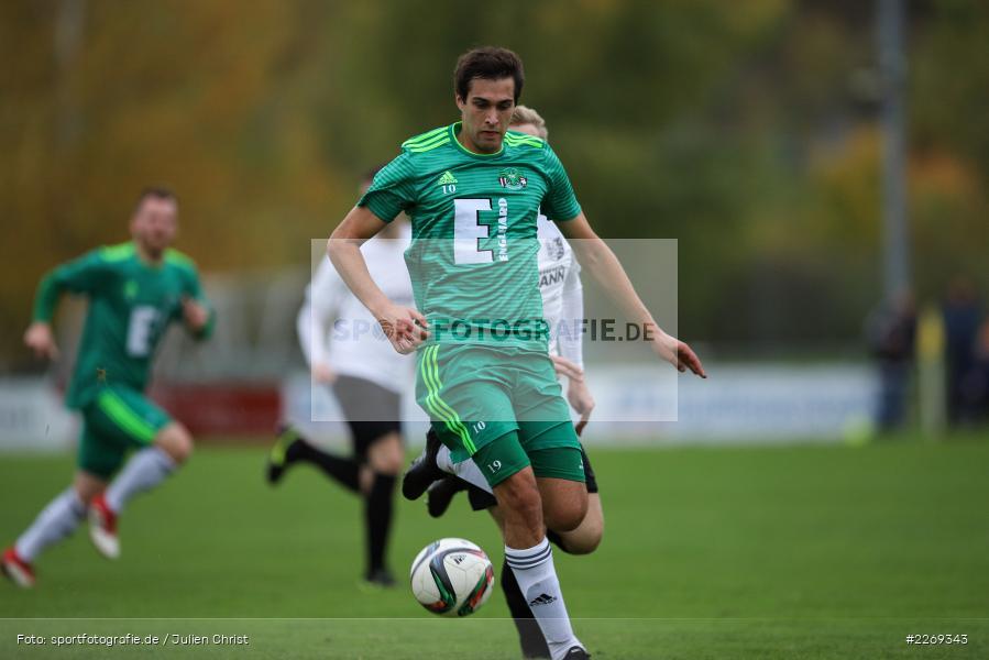 Christian Schrödl, 19.10.2019, Bayernliga Nord, DJK Ammerthal, TSV Karlburg - Bild-ID: 2269343