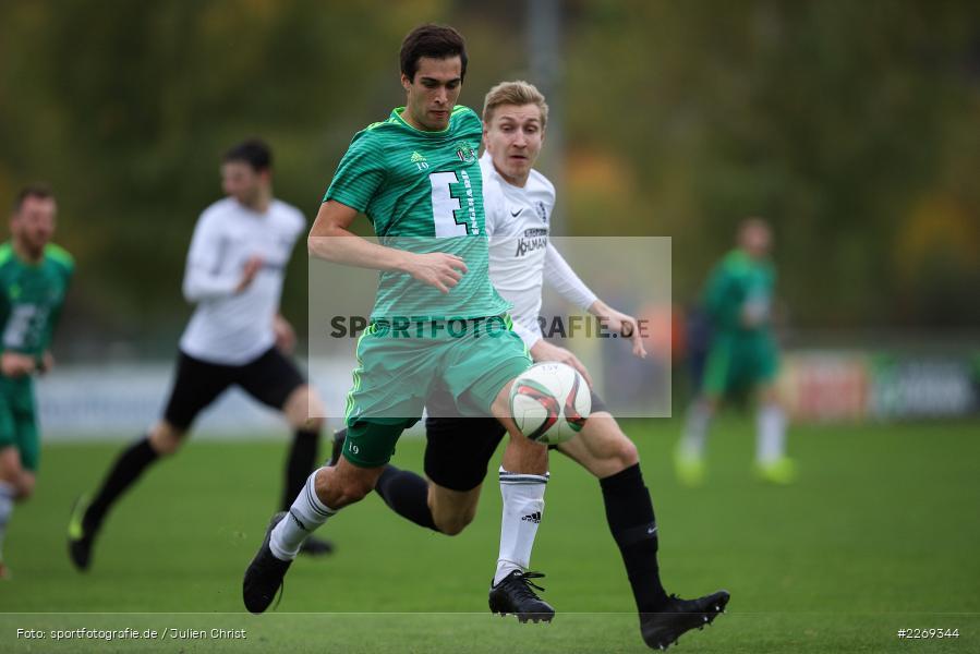 Marco Schiebel, Christian Schrödl, 19.10.2019, Bayernliga Nord, DJK Ammerthal, TSV Karlburg - Bild-ID: 2269344