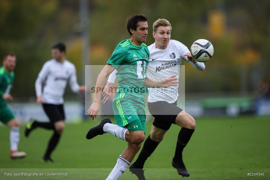 Marco Schiebel, Christian Schrödl, 19.10.2019, Bayernliga Nord, DJK Ammerthal, TSV Karlburg - Bild-ID: 2269345