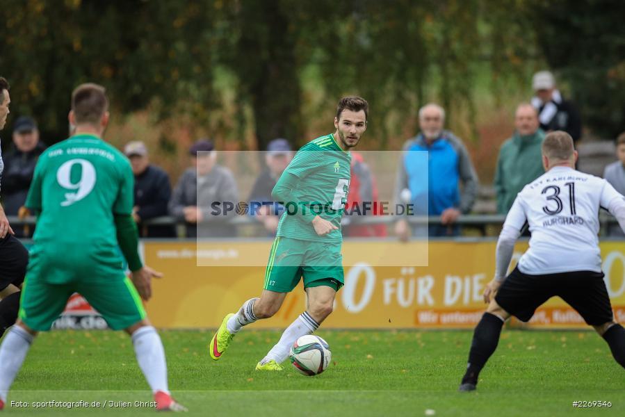 Daniel Gömmel, 19.10.2019, Bayernliga Nord, DJK Ammerthal, TSV Karlburg - Bild-ID: 2269346