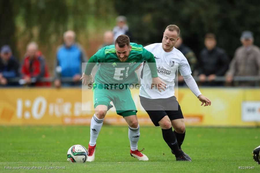Josef Burghard, Jonas Grunner, 19.10.2019, Bayernliga Nord, DJK Ammerthal, TSV Karlburg - Bild-ID: 2269347