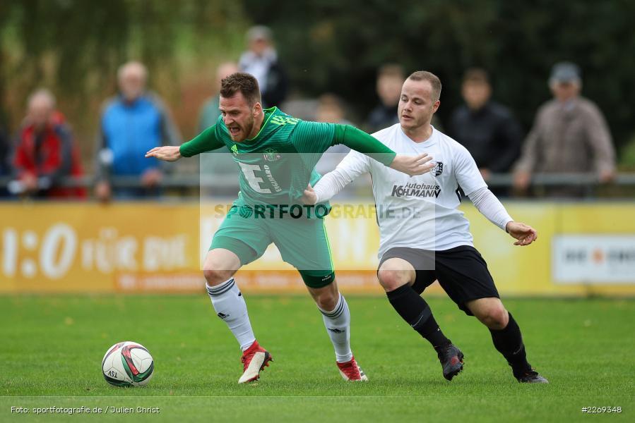 Josef Burghard, Jonas Grunner, 19.10.2019, Bayernliga Nord, DJK Ammerthal, TSV Karlburg - Bild-ID: 2269348