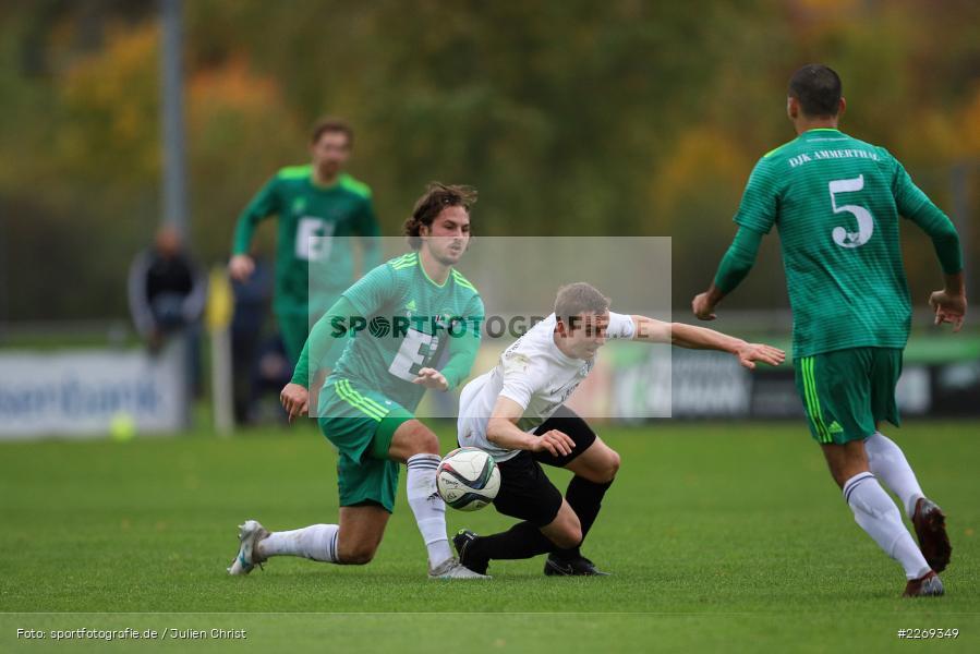 Sebastian Fries, Christian Kohl, 19.10.2019, Bayernliga Nord, DJK Ammerthal, TSV Karlburg - Bild-ID: 2269349