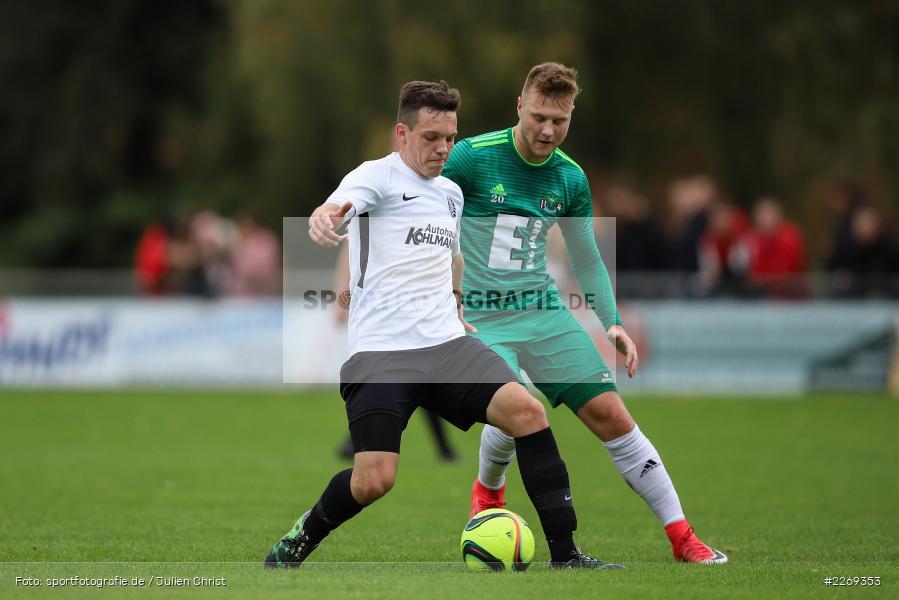 Marcel Frank, Konstantin Keilholz, 19.10.2019, Bayernliga Nord, DJK Ammerthal, TSV Karlburg - Bild-ID: 2269353