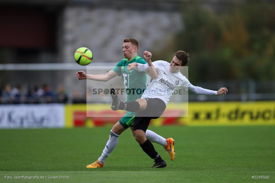 Andre Karzmarczyk, Andreas Rösch, 19.10.2019, Bayernliga Nord, DJK Ammerthal, TSV Karlburg - Bild-ID: 2269360