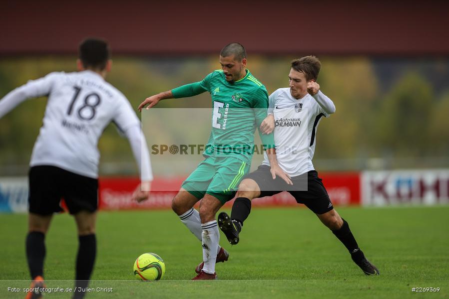 Ferdinand Buchner, Andreas Rösch, 19.10.2019, Bayernliga Nord, DJK Ammerthal, TSV Karlburg - Bild-ID: 2269369