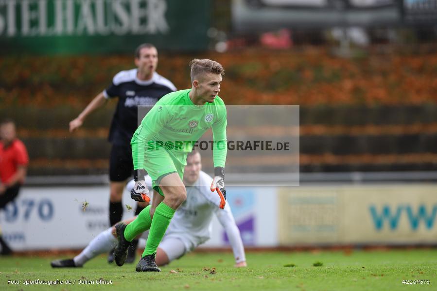 Julian Koch, 02.11.2019, Bayernliga Nord, TSV Karlburg, Würzburger FV - Bild-ID: 2269373