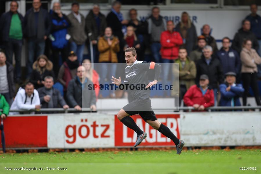 Manuel Römlein, 02.11.2019, Bayernliga Nord, TSV Karlburg, Würzburger FV - Bild-ID: 2269382