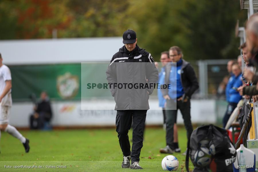 Markus Köhler, 02.11.2019, Bayernliga Nord, TSV Karlburg, Würzburger FV - Bild-ID: 2269394