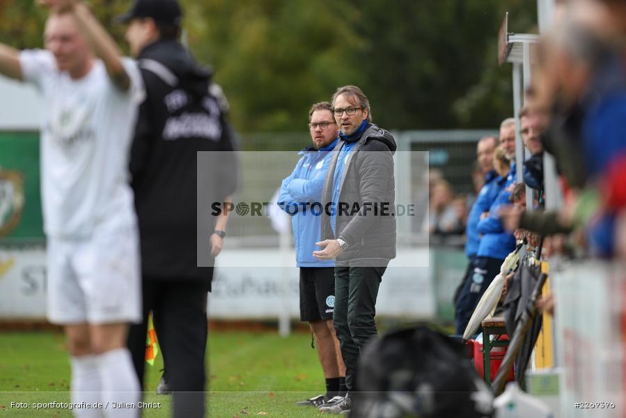 Berthold Göbel, 02.11.2019, Bayernliga Nord, TSV Karlburg, Würzburger FV - Bild-ID: 2269396