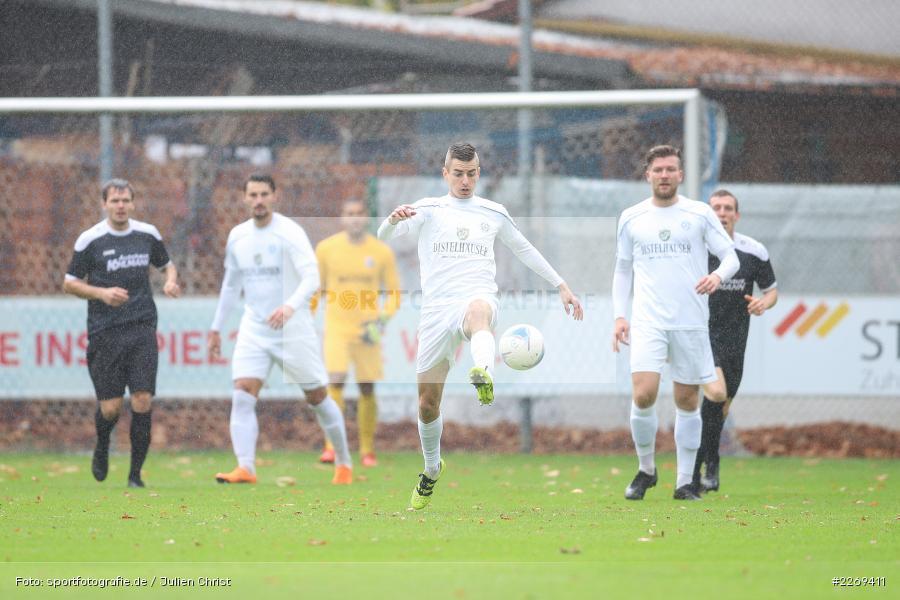Steffen Barthel, 02.11.2019, Bayernliga Nord, TSV Karlburg, Würzburger FV - Bild-ID: 2269411