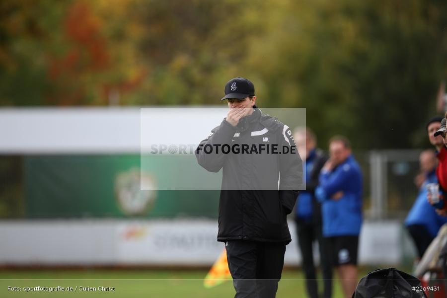 Markus Köhler, 02.11.2019, Bayernliga Nord, TSV Karlburg, Würzburger FV - Bild-ID: 2269431