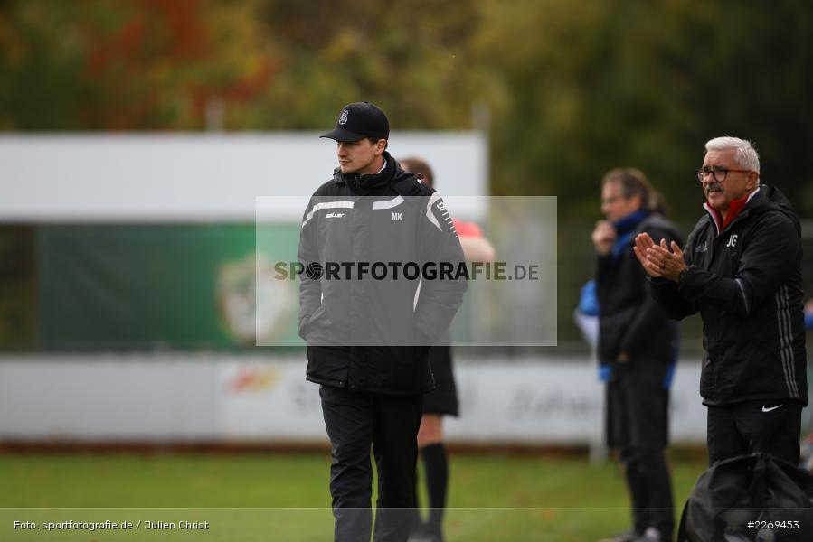 Markus Köhler, 02.11.2019, Bayernliga Nord, TSV Karlburg, Würzburger FV - Bild-ID: 2269453
