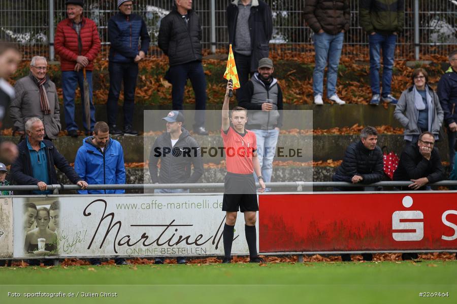 Jonas Krzyzanowski, 02.11.2019, Bayernliga Nord, TSV Karlburg, Würzburger FV - Bild-ID: 2269464