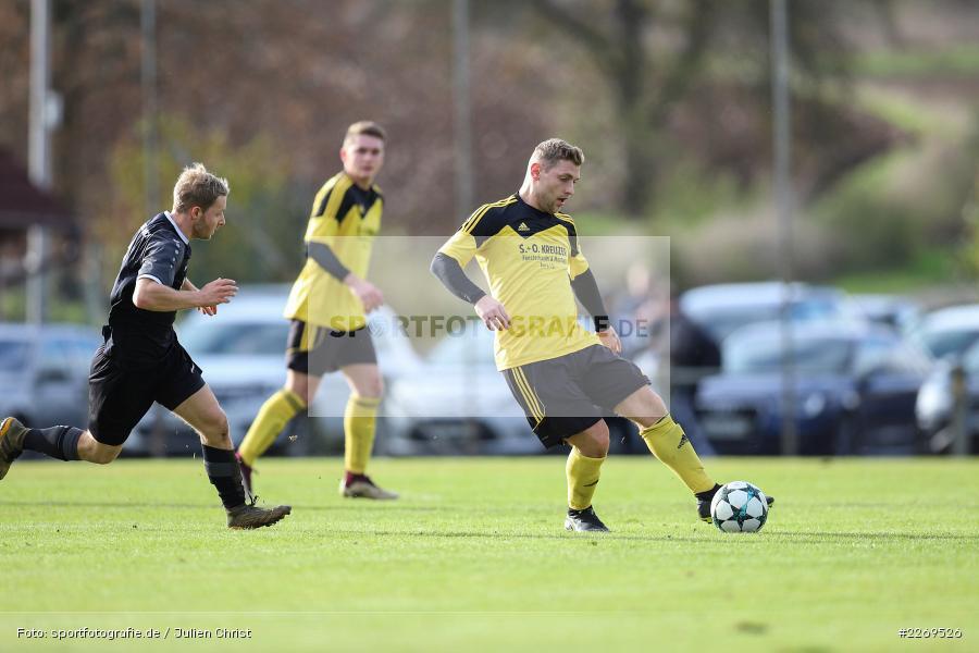 Timo Rützel, Raffael Pfaff, Kreisklasse Würzburg, 03.11.2019, BSC Aura, SG Eußenheim-Gambach - Bild-ID: 2269526