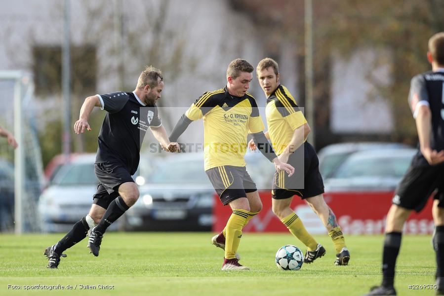 Steffen Lehofer, Maximilian Jeckel, Kreisklasse Würzburg, 03.11.2019, BSC Aura, SG Eußenheim-Gambach - Bild-ID: 2269535