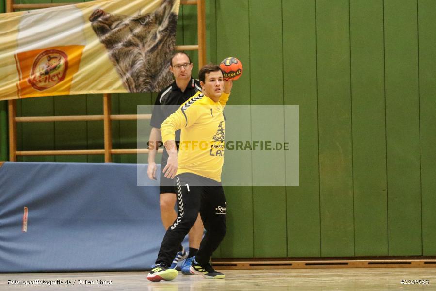 Valentin Schmitt, Bezirksliga Staffel Nord, 03.11.2019, TV Gerolzhofen, TSV Karlstadt - Bild-ID: 2269583