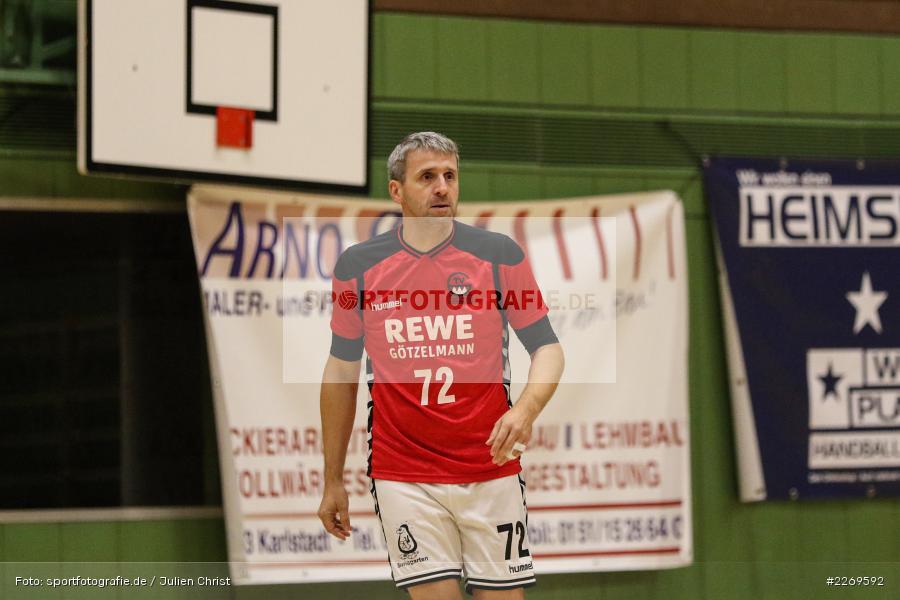 Blattner, Bezirksliga Staffel Nord, 03.11.2019, TV Gerolzhofen, TSV Karlstadt - Bild-ID: 2269592