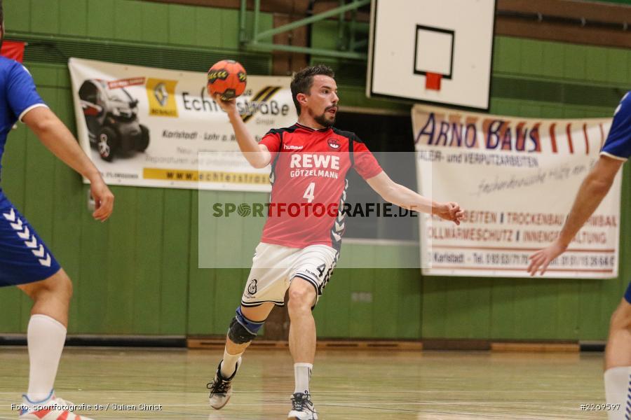 Daniel Hausmann, Bezirksliga Staffel Nord, 03.11.2019, TV Gerolzhofen, TSV Karlstadt - Bild-ID: 2269597