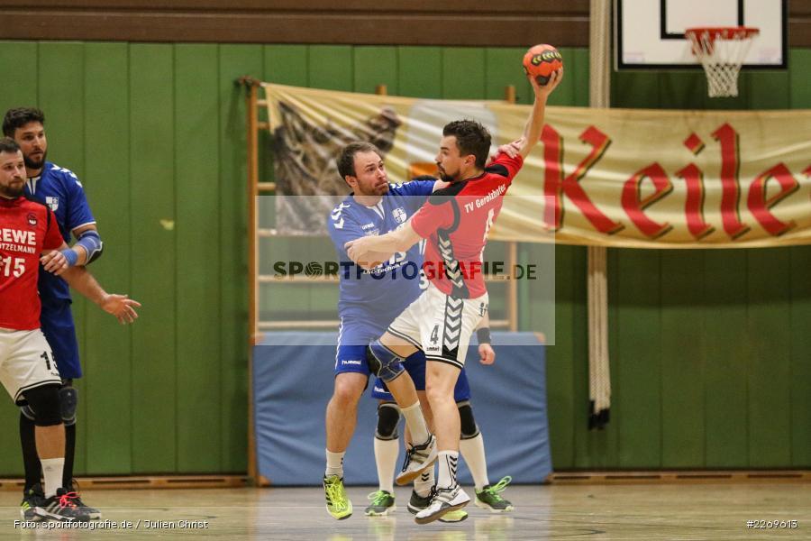 Daniel Hausmann, Markus Losert, Bezirksliga Staffel Nord, 03.11.2019, TV Gerolzhofen, TSV Karlstadt - Bild-ID: 2269613
