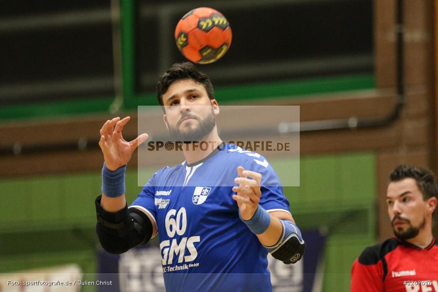 Daniel Born, Bezirksliga Staffel Nord, 03.11.2019, TV Gerolzhofen, TSV Karlstadt - Bild-ID: 2269617