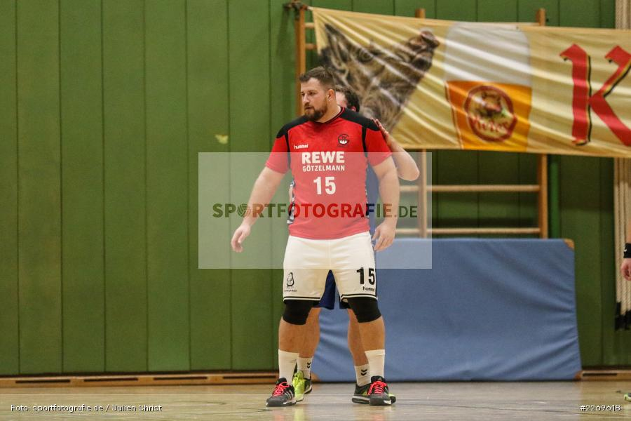 Philipp Schmitt, Bezirksliga Staffel Nord, 03.11.2019, TV Gerolzhofen, TSV Karlstadt - Bild-ID: 2269618