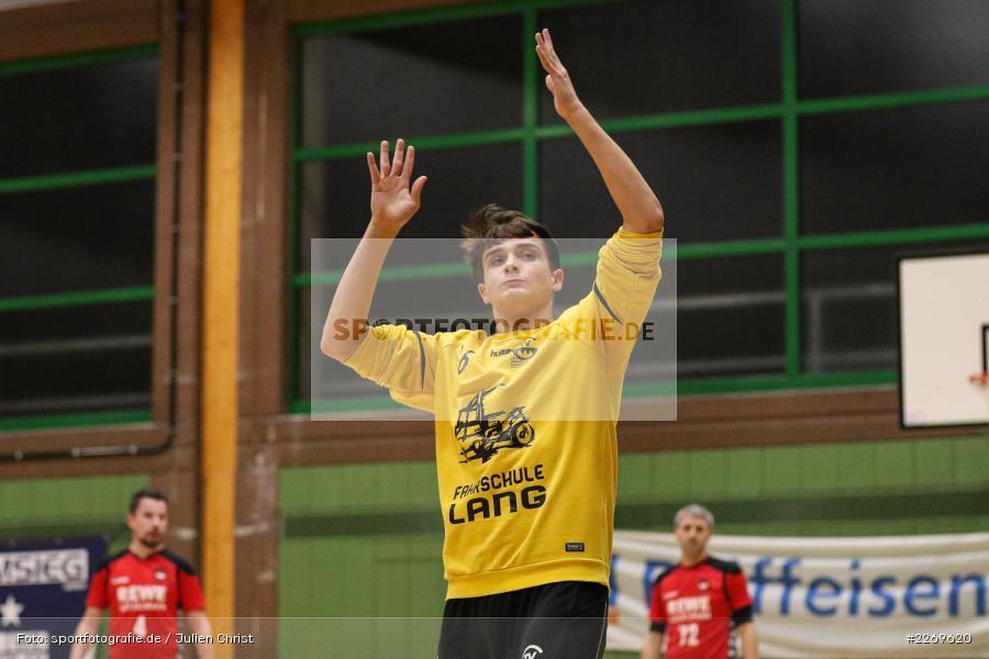 Tobias Schauer, Bezirksliga Staffel Nord, 03.11.2019, TV Gerolzhofen, TSV Karlstadt - Bild-ID: 2269620